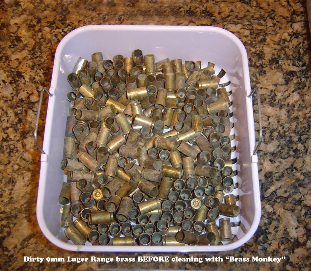 dirty 9mm brass